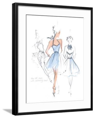 Haute Couture IV-Jane Hartley-Framed Art Print