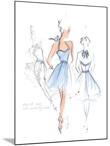 Haute Couture IV-Jane Hartley-Mounted Art Print