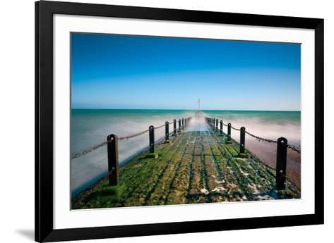 Green Horizon-Joseph Eta-Framed Art Print