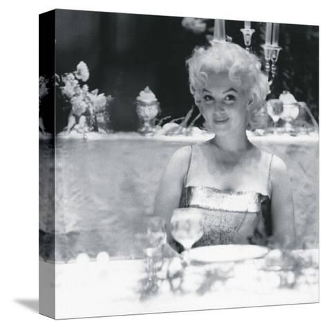 Your Table Awaits-The Chelsea Collection-Stretched Canvas Print