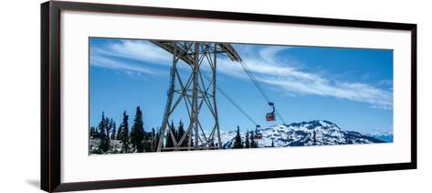 Peak 2 Peak Gondola, Whistler, British Columbia-Jeff Maihara-Framed Art Print