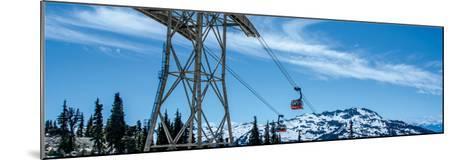 Peak 2 Peak Gondola, Whistler, British Columbia-Jeff Maihara-Mounted Art Print