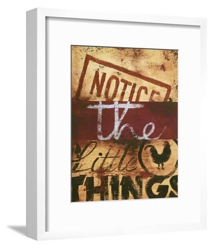 Notice The Little Things-Rodney White-Framed Art Print