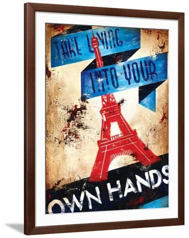 One's Own Conditions-Rodney White-Framed Art Print