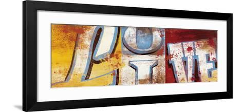 Actions For Now-Rodney White-Framed Art Print