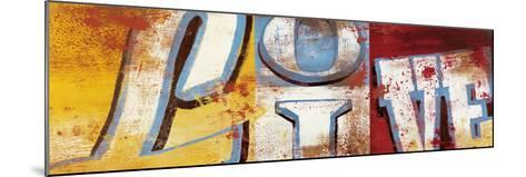 Actions For Now-Rodney White-Mounted Giclee Print