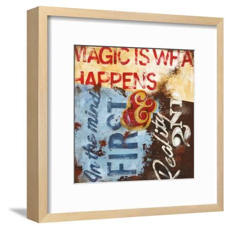 Strategy For Everyday Sorcery-Rodney White-Framed Art Print