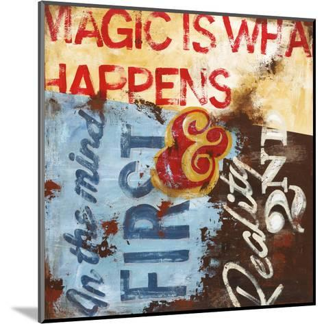 Strategy For Everyday Sorcery-Rodney White-Mounted Giclee Print