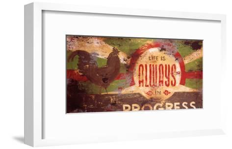 Always In Progress-Rodney White-Framed Art Print