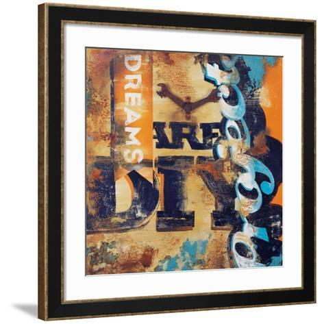 Aren't You Crafty-Rodney White-Framed Art Print