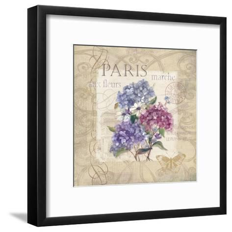 Paris Flower Market-Carol Robinson-Framed Art Print