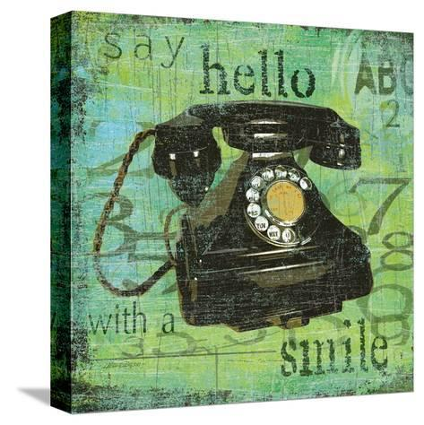 Say Hello With a Smile-Carol Robinson-Stretched Canvas Print