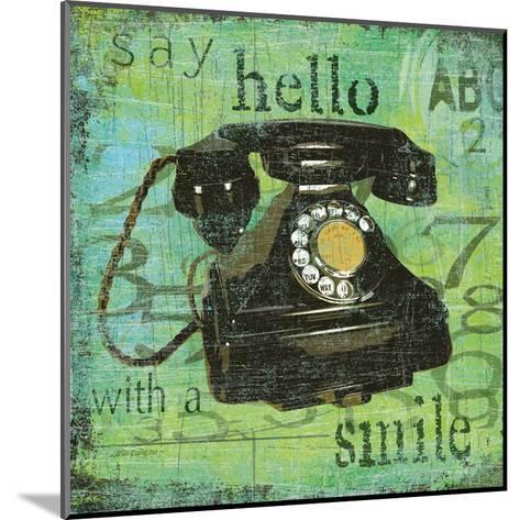 Say Hello With a Smile-Carol Robinson-Mounted Art Print