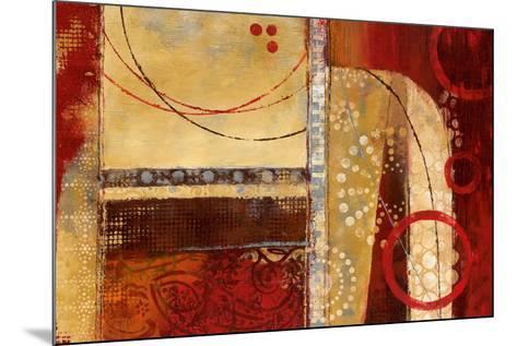 Dance of Light I-Nan-Mounted Art Print