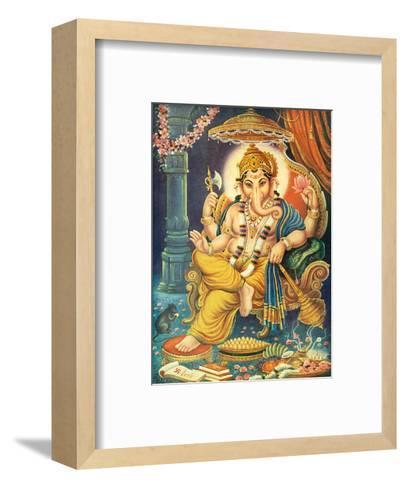 Lord Ganesha--Framed Art Print