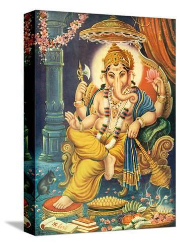 Lord Ganesha--Stretched Canvas Print