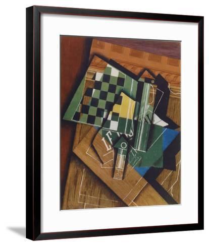 The Checkerboard-Juan Gris-Framed Art Print