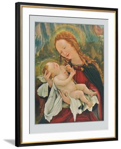 Madonna (fom the Isenheim Altar)-Matthias Gruenewald-Framed Art Print