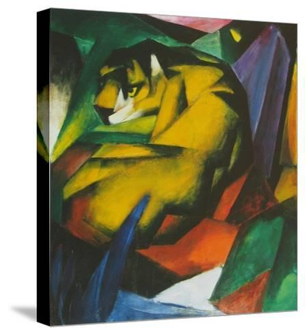 The Tiger , 1912-Franz Marc-Stretched Canvas Print