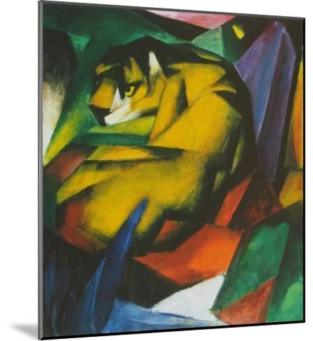The Tiger , 1912-Franz Marc-Mounted Art Print