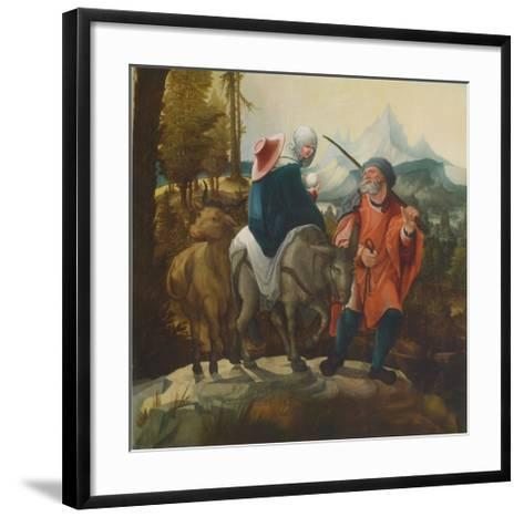 The Flight into Egypt-Wolf Huber-Framed Art Print