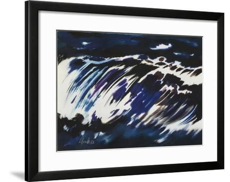 Rushing Water, 1963-Siegward Sprotte-Framed Art Print