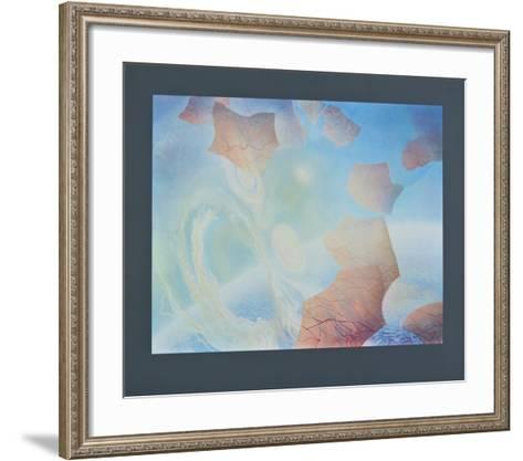 Cosmic Processes - Entropy - Genesis-Peter Sylvester-Framed Art Print