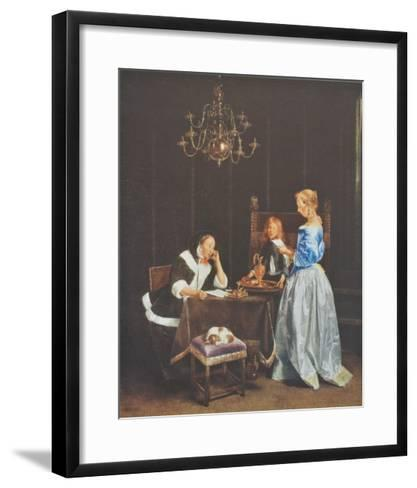 The Letter-Gerard Terborch-Framed Art Print