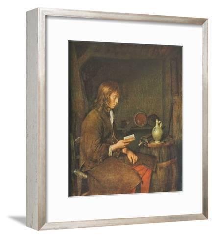 The Reader-Gerard Terborch-Framed Art Print