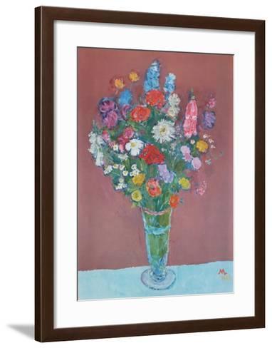 A Bouquet of Summer Flowers-Max Langer-Framed Art Print