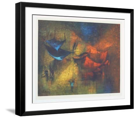 Hanging Flews-Lebadang-Framed Art Print