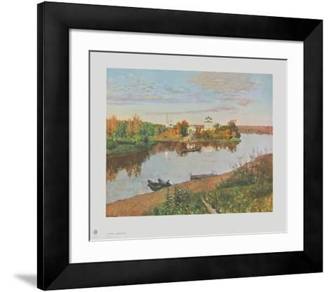 Eventide-Isaak Iljic Lewitan-Framed Art Print