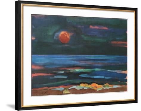Nothern Night-Siegward Sprotte-Framed Art Print