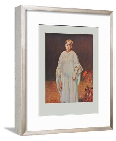 La Sultane-Edouard Manet-Framed Art Print