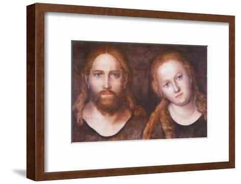 Christ and Mary , 1516–20-Lucas Cranach the Elder-Framed Art Print