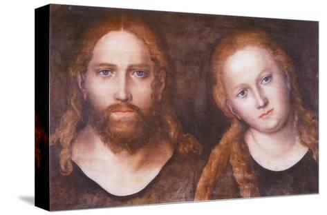 Christ and Mary , 1516–20-Lucas Cranach the Elder-Stretched Canvas Print