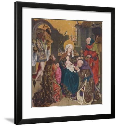 The Adoration of the Magi--Framed Art Print