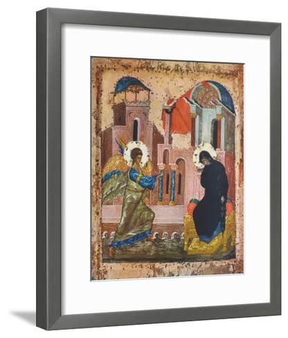 The Annunciation--Framed Art Print