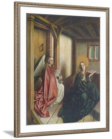 The Annunciation-Konrad Witz-Framed Art Print