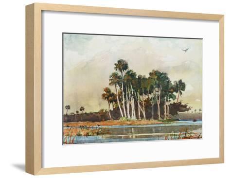 The Grove-Winslow Homer-Framed Art Print