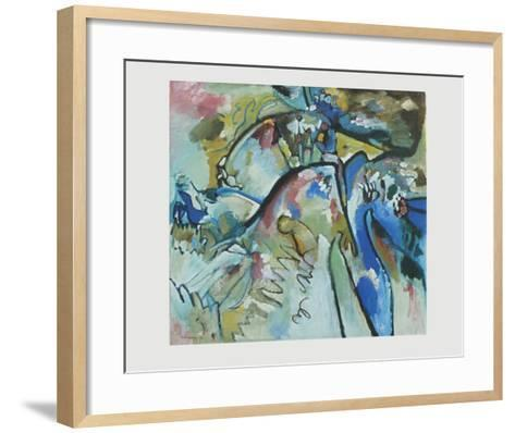 Improvisation 21 A , 1911-Wassily Kandinsky-Framed Art Print