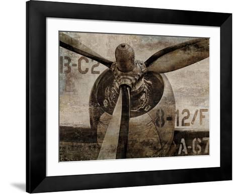 Vintage Propeller-Dylan Matthews-Framed Art Print