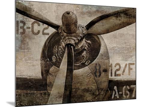 Vintage Propeller-Dylan Matthews-Mounted Art Print