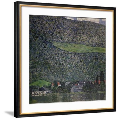 Litzlberg am Attersee-Gustav Klimt-Framed Art Print