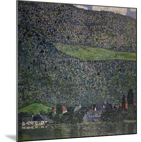 Litzlberg am Attersee-Gustav Klimt-Mounted Art Print