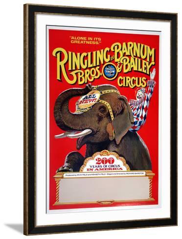 Ringling Bros (200 Years)--Framed Art Print