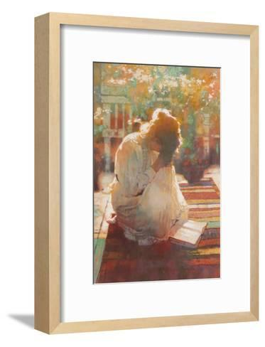 He Shall Hear My Voice-Michael Dudash-Framed Art Print