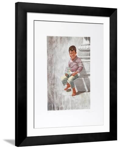 Today's Chicklets Are Tomorrow's Shoes-Vic Herman-Framed Art Print