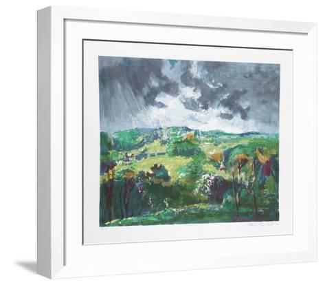 Woodstock-Lloyd Lozes Goff-Framed Art Print