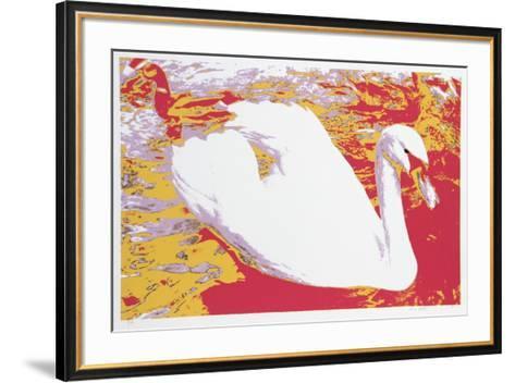 White Swan-Max Epstein-Framed Art Print